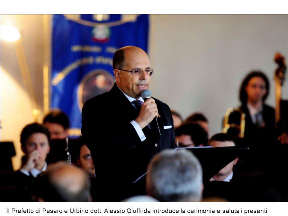 Il Prefetto di Pesaro e Urbino dott
