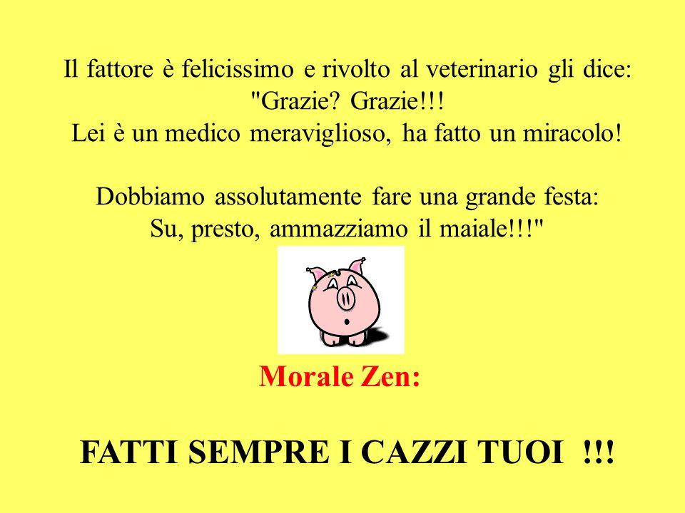FATTI SEMPRE I CAZZI TUOI !!!