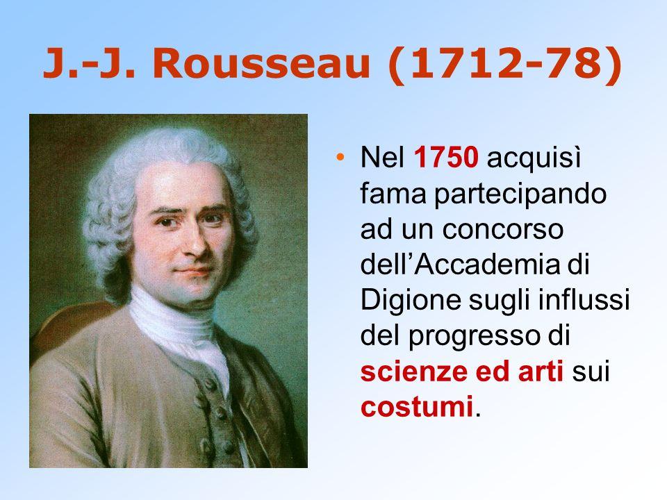 J.-J. Rousseau (1712-78)