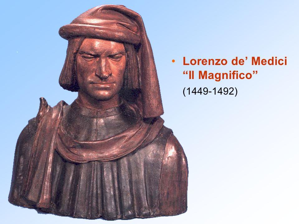 Lorenzo de' Medici Il Magnifico (1449-1492)