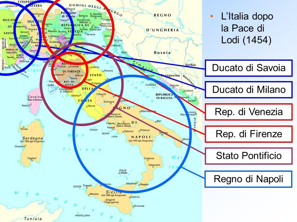 L'Italia dopo la Pace di Lodi (1454)