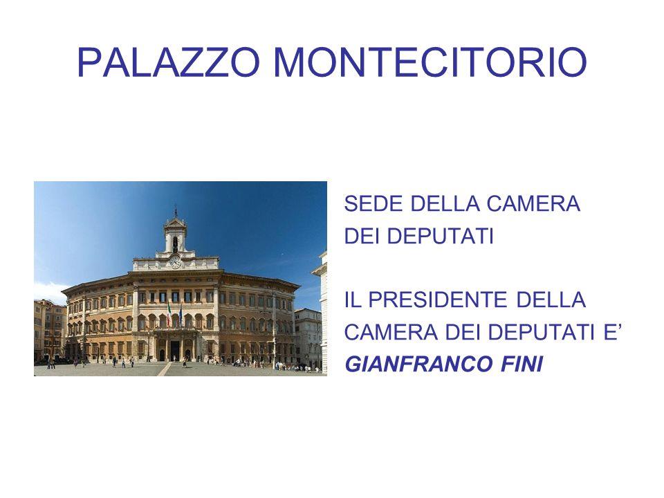 I palazzi istituzionali ppt video online scaricare for Presidente dei deputati