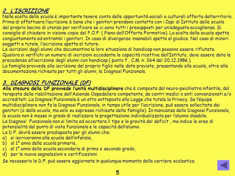 3. DIAGNOSI FUNZIONALE (DF)