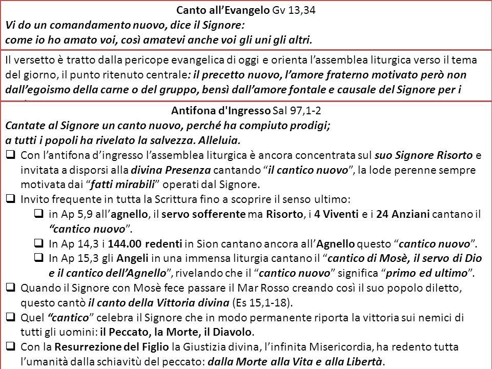 Antifona d Ingresso Sal 97,1-2