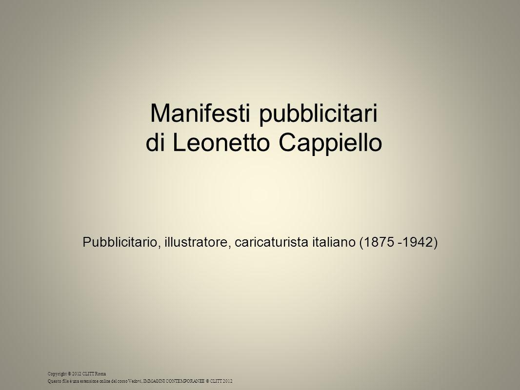 Manifesti pubblicitari di Leonetto Cappiello