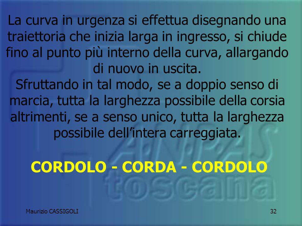 CORDOLO - CORDA - CORDOLO