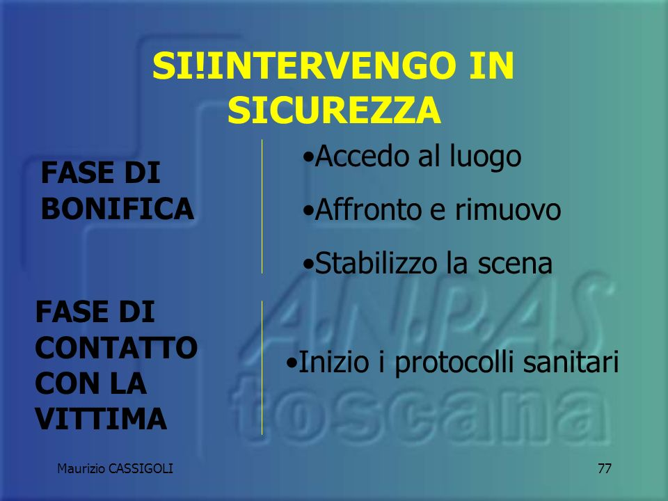 SI!INTERVENGO IN SICUREZZA