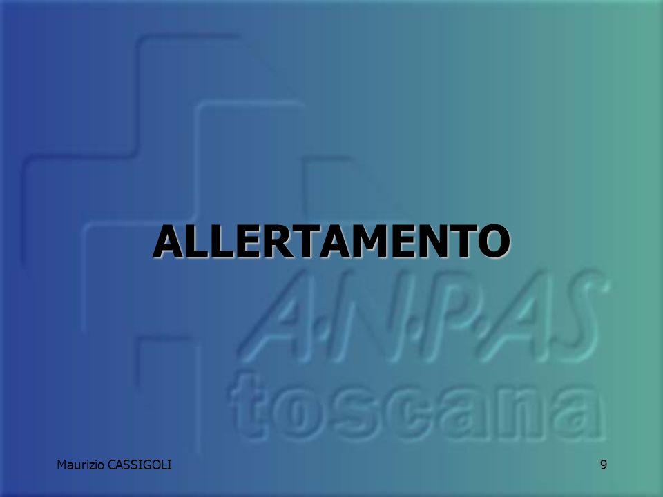 ALLERTAMENTO Maurizio CASSIGOLI