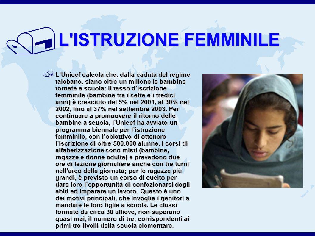L ISTRUZIONE FEMMINILE