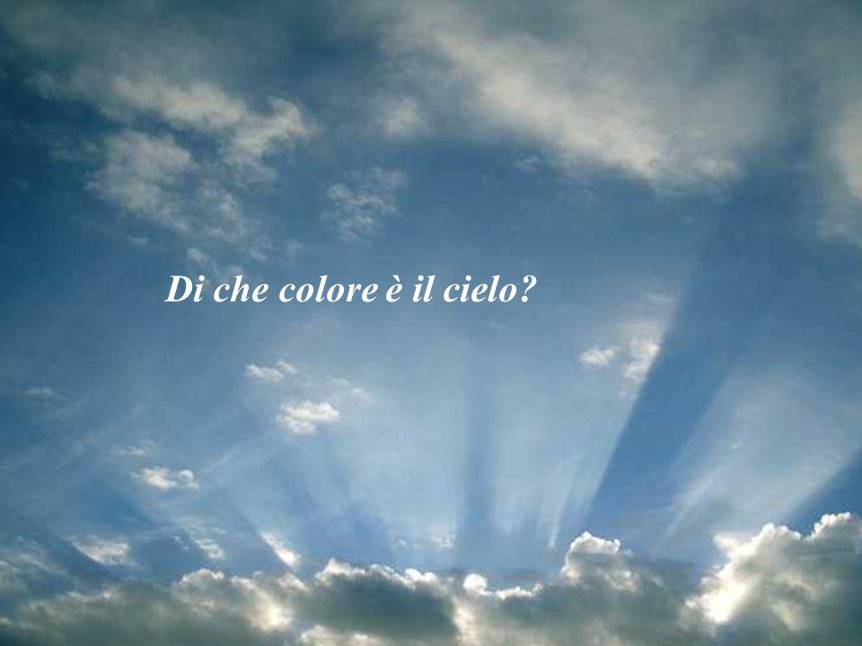 Di che colore è il cielo