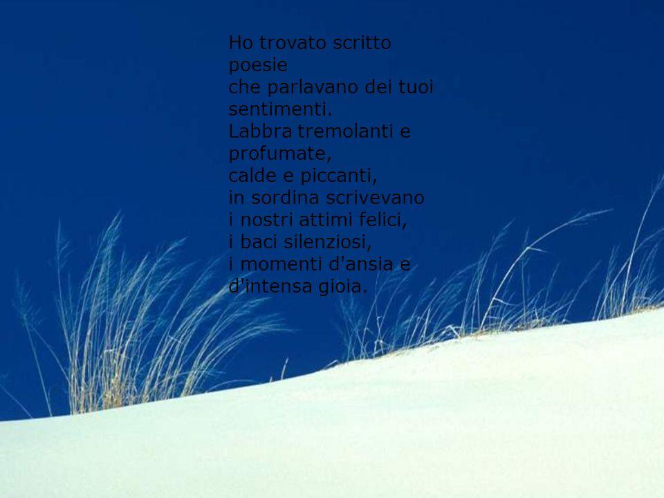 Diapositiva sommario Argomento 1 Ho trovato scritto poesie