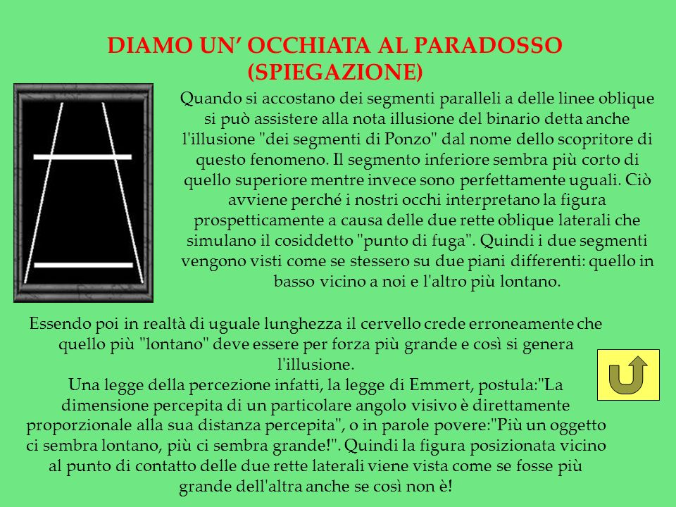 DIAMO UN' OCCHIATA AL PARADOSSO (SPIEGAZIONE)