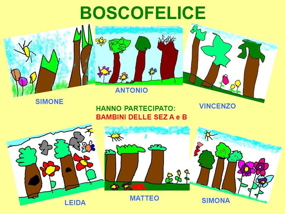 BOSCOFELICE ANTONIO SIMONE VINCENZO HANNO PARTECIPATO: