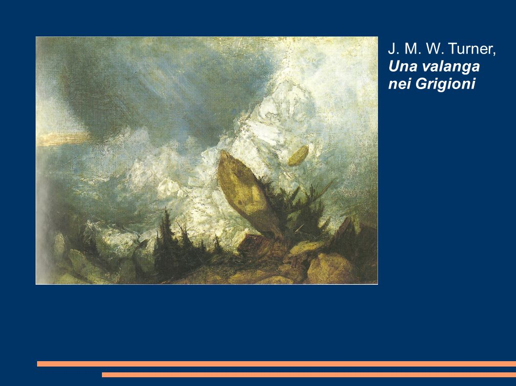 J. M. W. Turner, Una valanga nei Grigioni