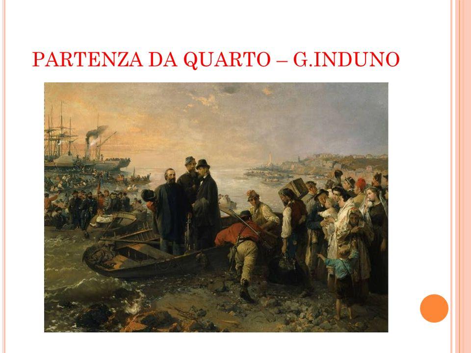 PARTENZA DA QUARTO – G.INDUNO