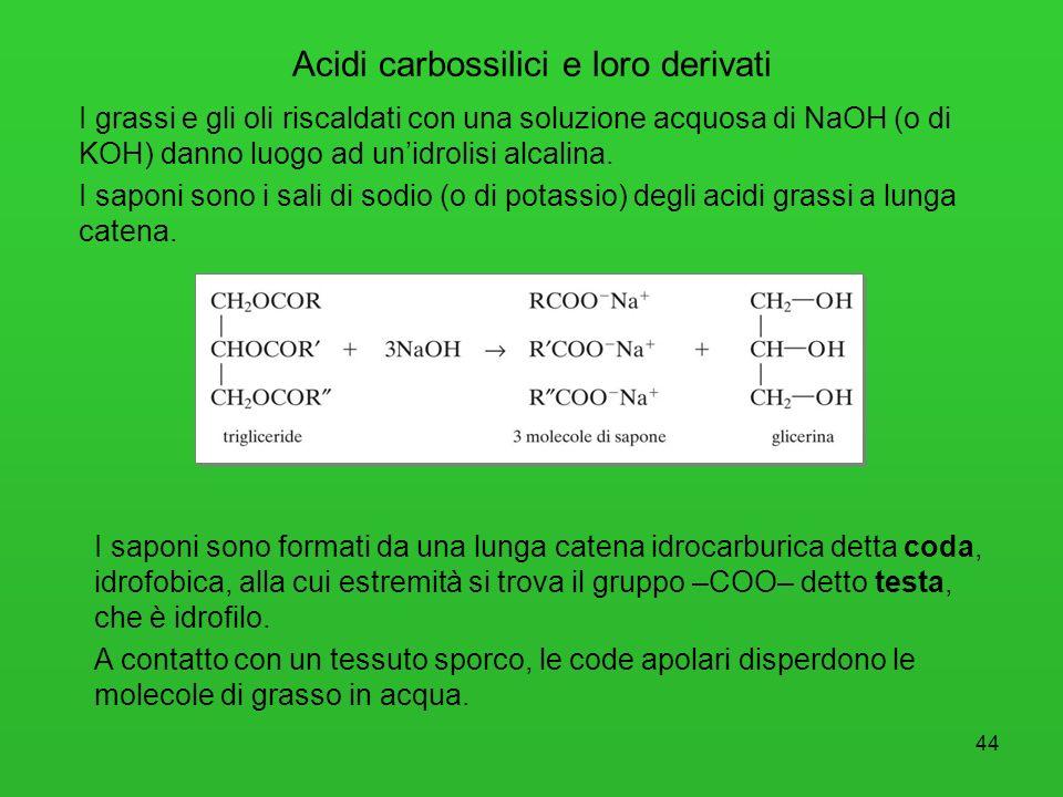 Acidi carbossilici e loro derivati