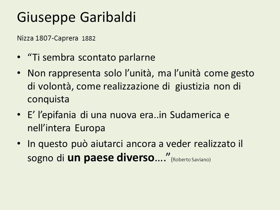 Giuseppe Garibaldi Nizza 1807-Caprera 1882