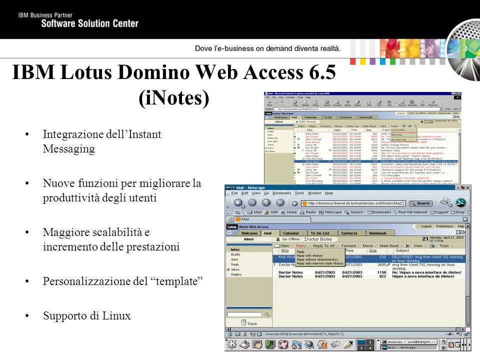 IBM Lotus Domino Web Access 6.5 (iNotes)