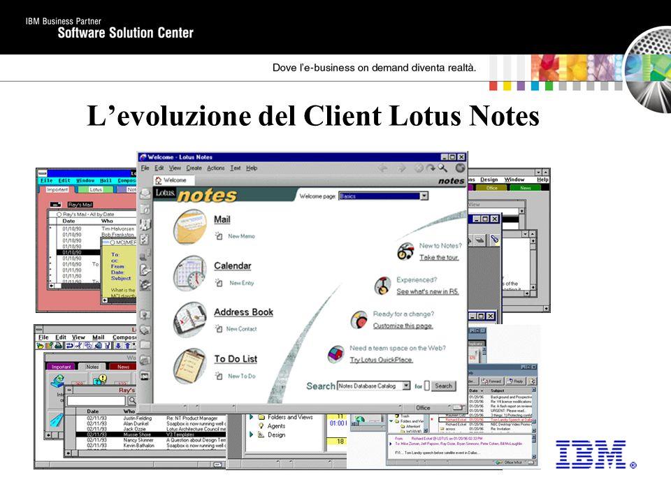 L'evoluzione del Client Lotus Notes