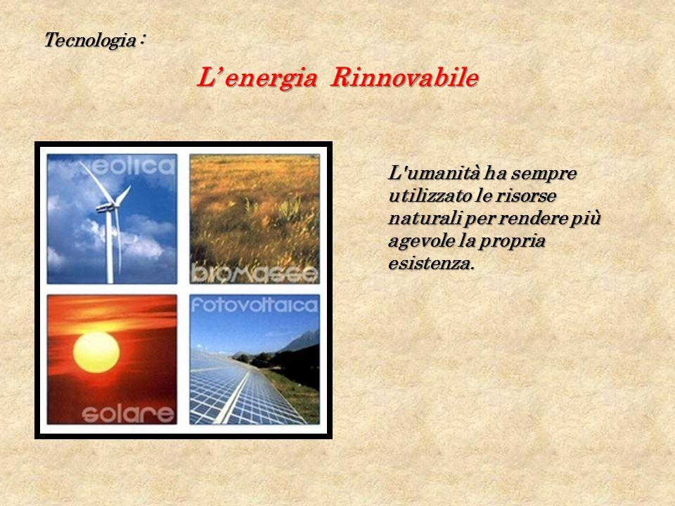 L' energia Rinnovabile