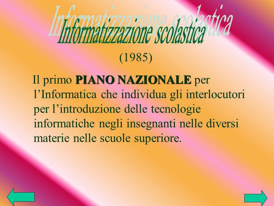 Informatizzazione scolastica