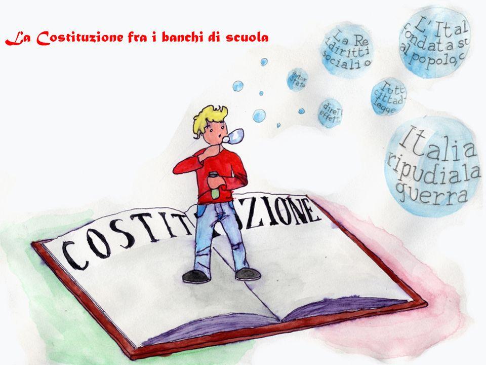 La Costituzione fra i banchi di scuola