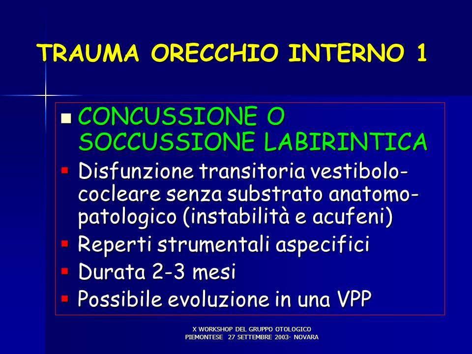 TRAUMA ORECCHIO INTERNO 1