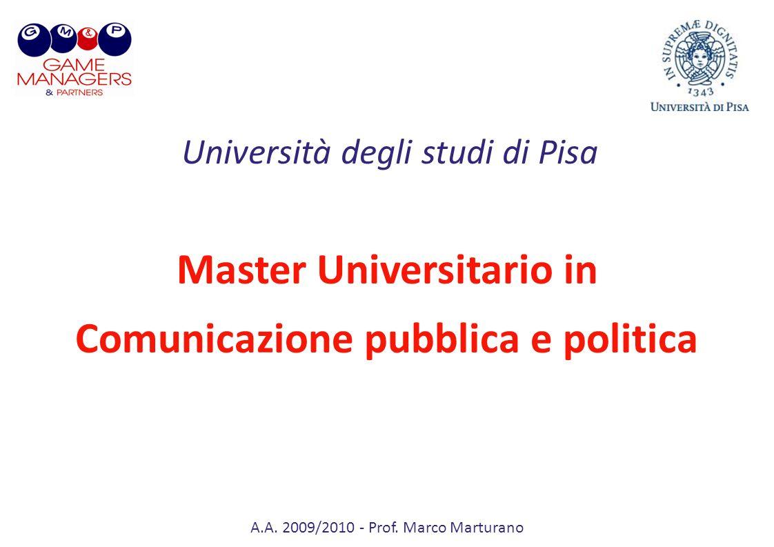 Master Universitario in