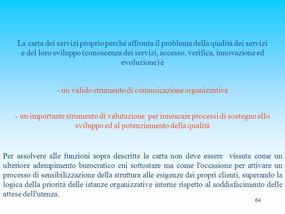 - un valido strumento di comunicazione organizzativa