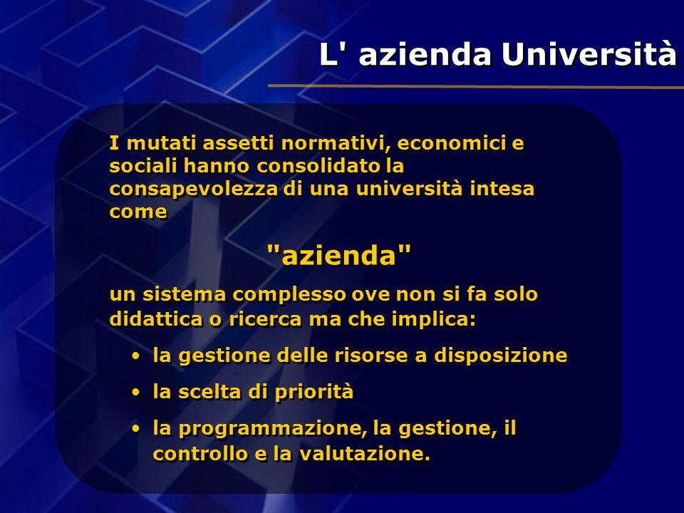 L azienda Università azienda