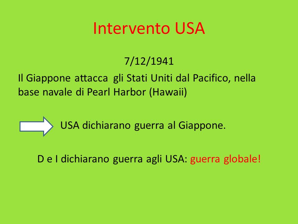 Intervento USA