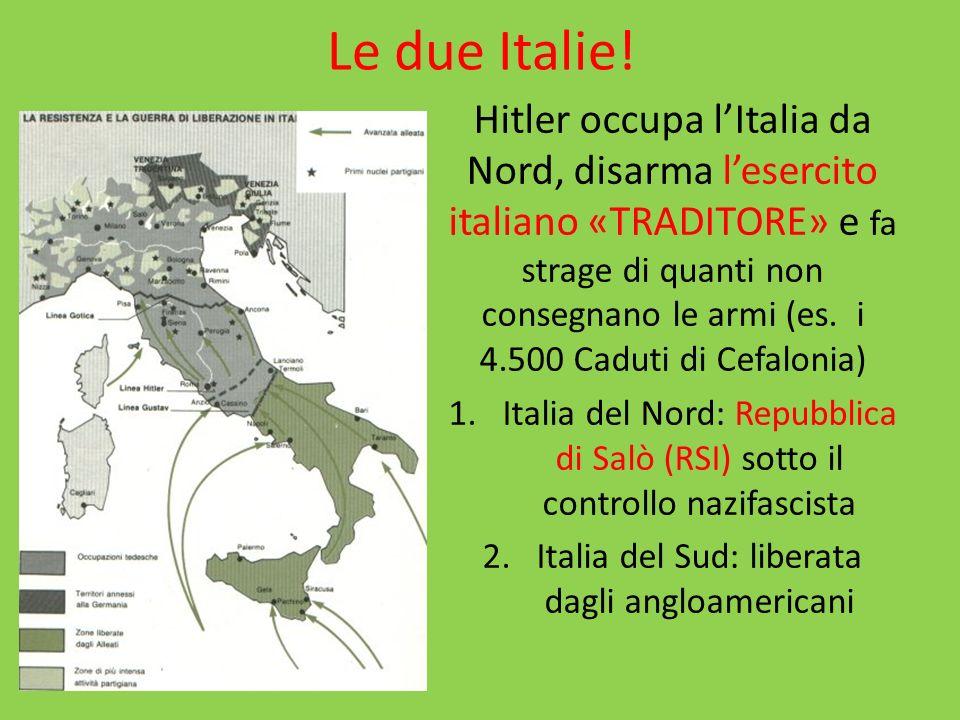 Italia del Sud: liberata dagli angloamericani