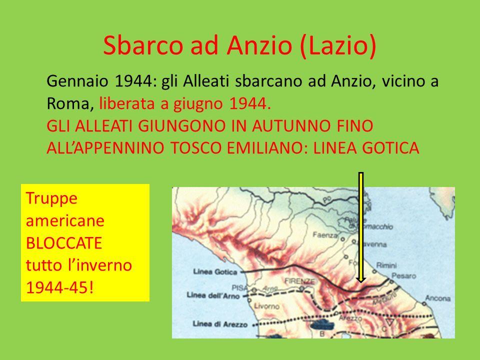 Sbarco ad Anzio (Lazio)