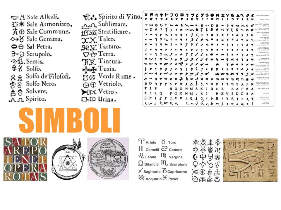 pittogrammi astrologici alchemici mistici araldici corporativi