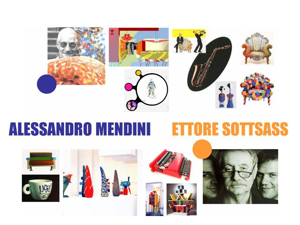 ALESSANDRO MENDINI ETTORE SOTTSASS