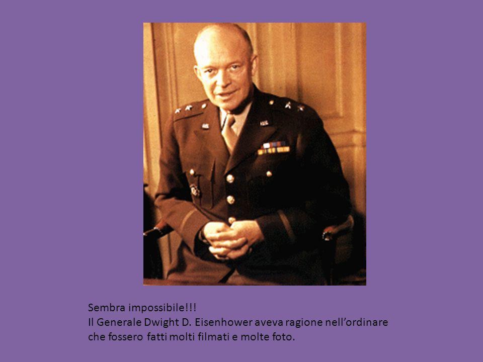 Sembra impossibile!!. Il Generale Dwight D.
