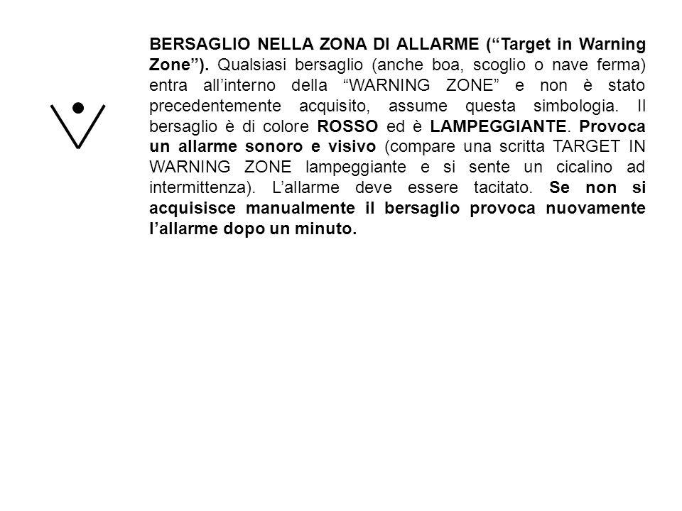 BERSAGLIO NELLA ZONA DI ALLARME ( Target in Warning Zone )