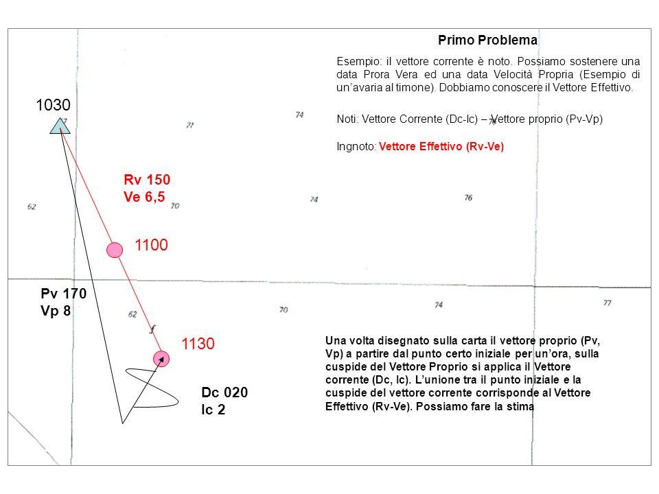 1030 1100 1130 Rv 150 Ve 6,5 Pv 170 Vp 8 Dc 020 Ic 2 Primo Problema
