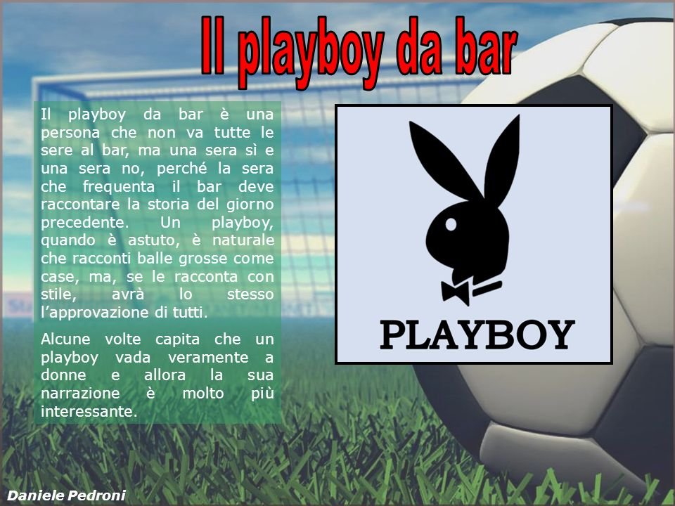 Il playboy da bar