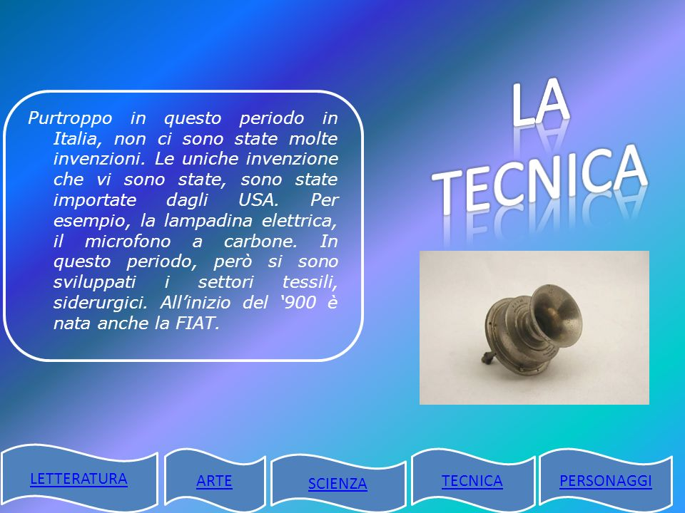 LA TECNICA