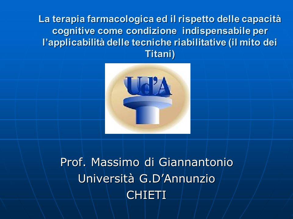 Prof. Massimo di Giannantonio Università G.D'Annunzio CHIETI