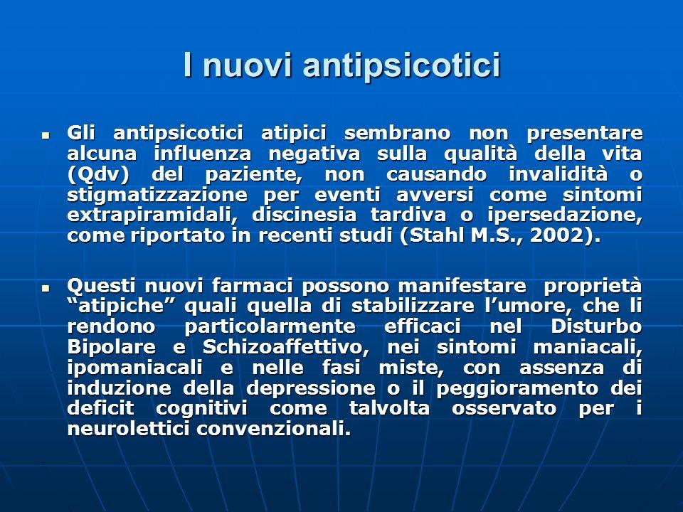 I nuovi antipsicotici
