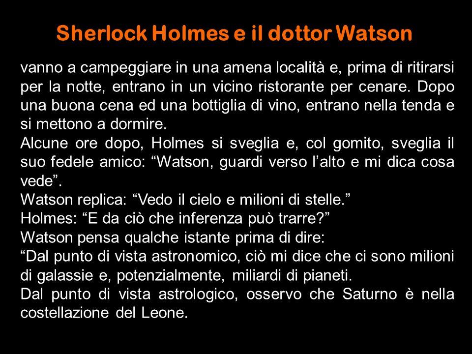 Sherlock Holmes e il dottor Watson