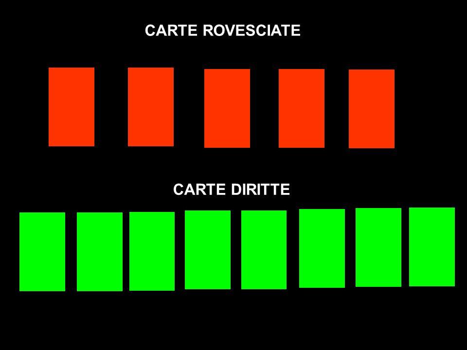 CARTE ROVESCIATE CARTE DIRITTE