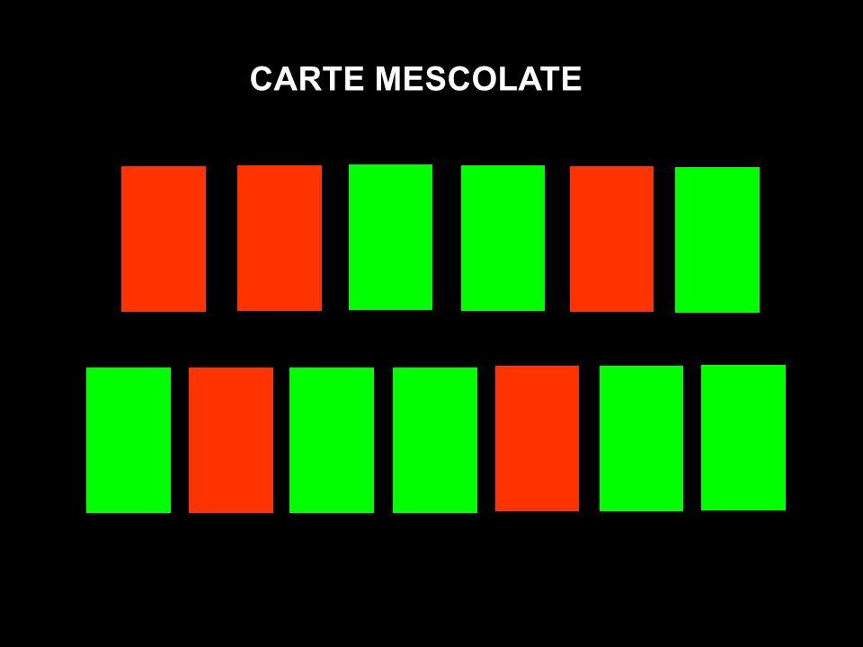 CARTE MESCOLATE