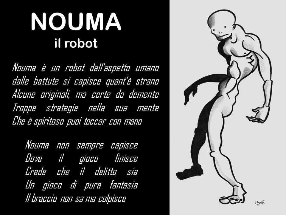 NOUMAil robot.