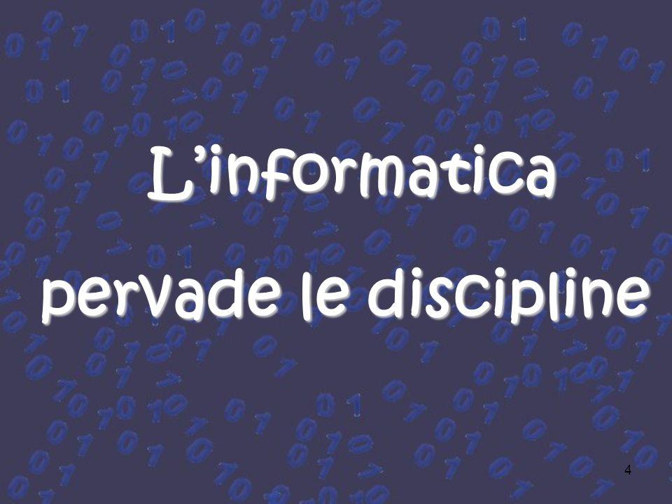 L'informatica pervade le discipline