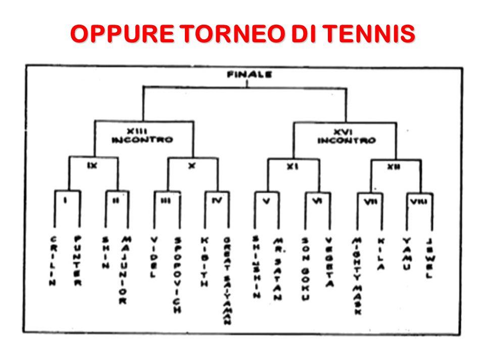 OPPURE TORNEO DI TENNIS