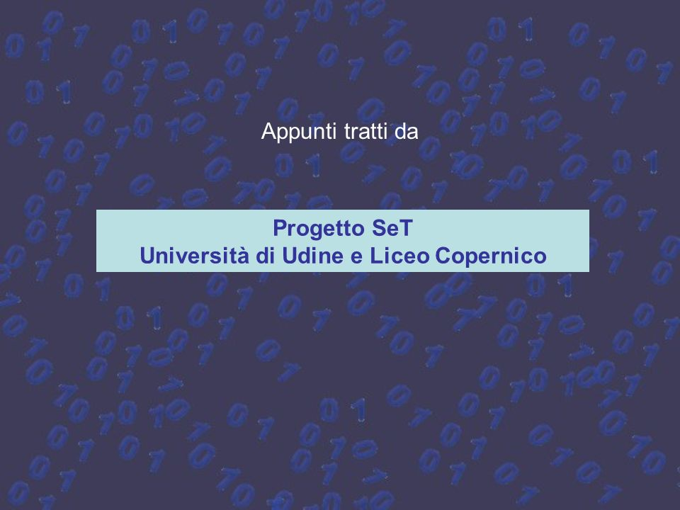 Università di Udine e Liceo Copernico
