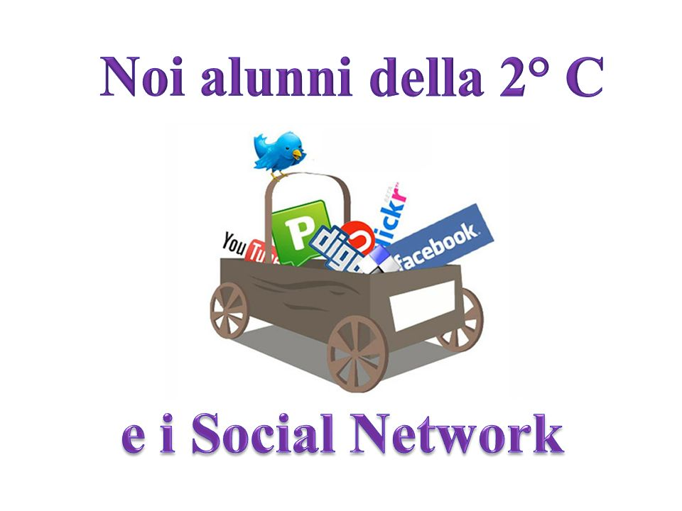 Noi alunni della 2° C e i Social Network